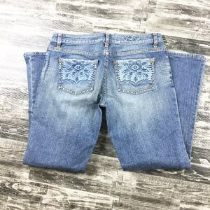 Vintage Guess Jeans Size 31 Women's Embroidered